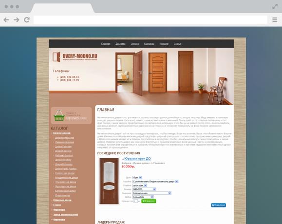 Двери-Модно